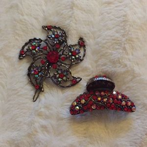 Jewelry - Cara NY Hair Claw and Barrette